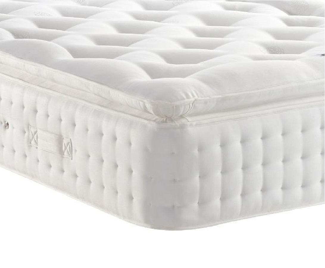 Donald 5000 White Organic Pillow Top