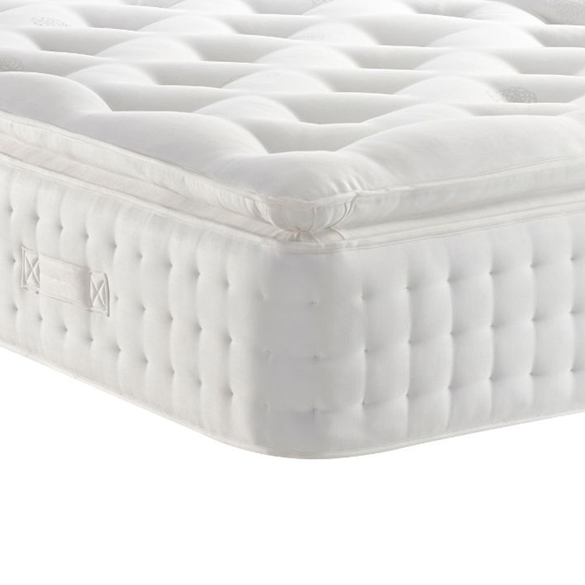 Nora White 2000 Pillow Top Spring Mattress Medium/Firm