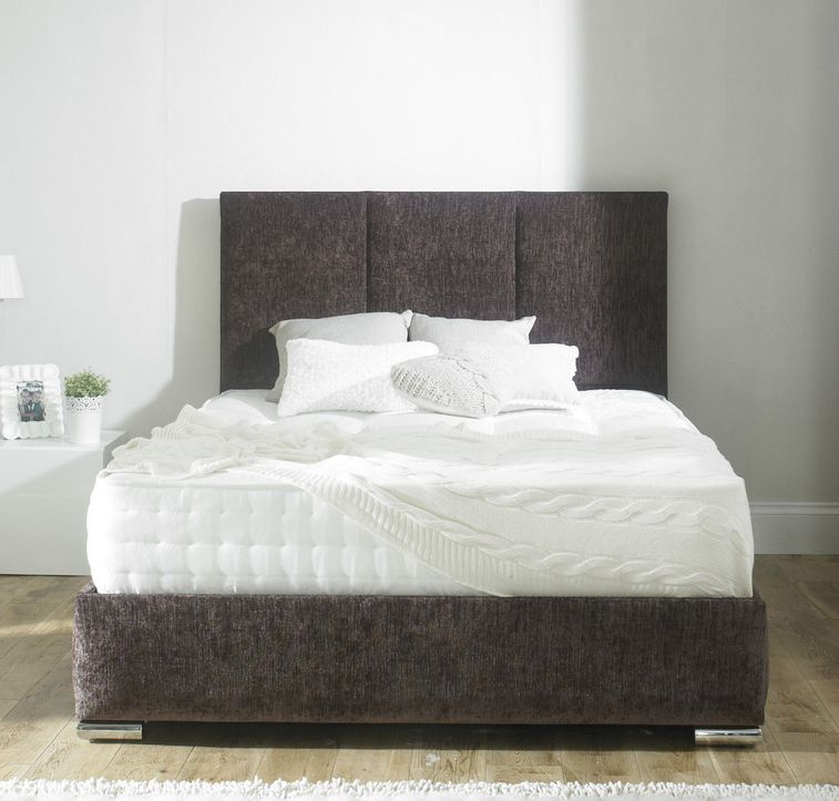 Grace Vertical Three Panel Mattress And Bed Frame Set