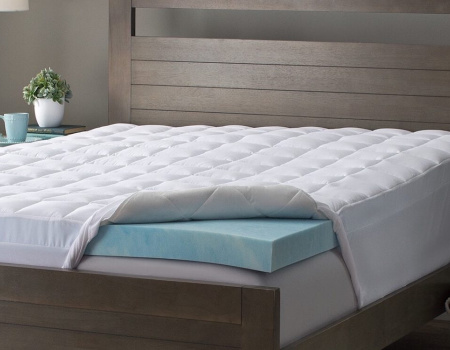 Maxi Cool Mattress Topper Cool Blue Memory