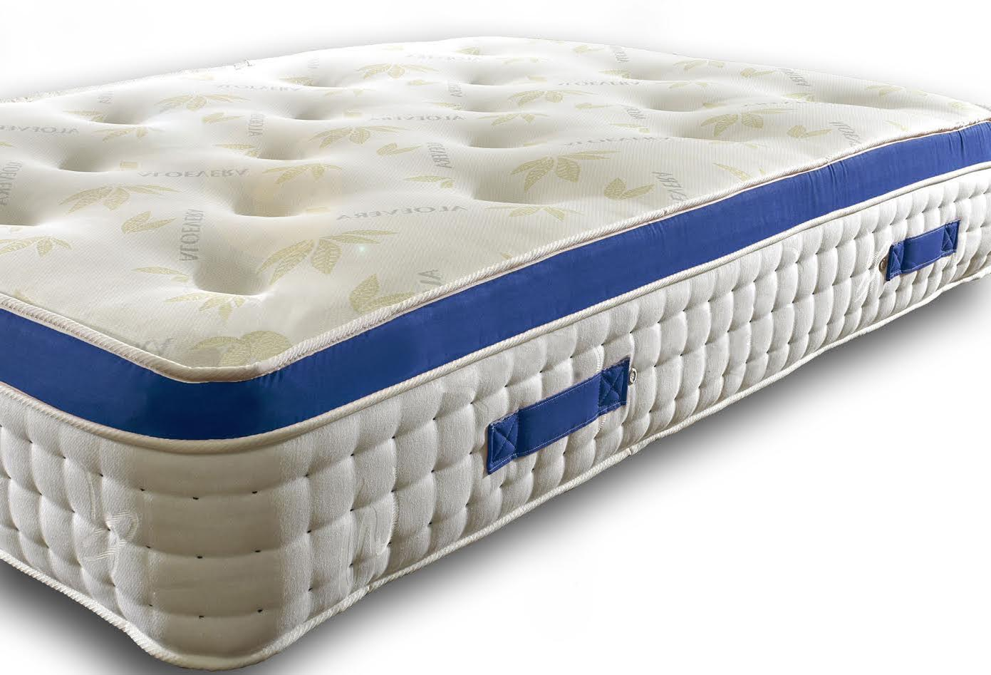 Andrew 3000 Pocket Spring Blue Pillow Top Mattress