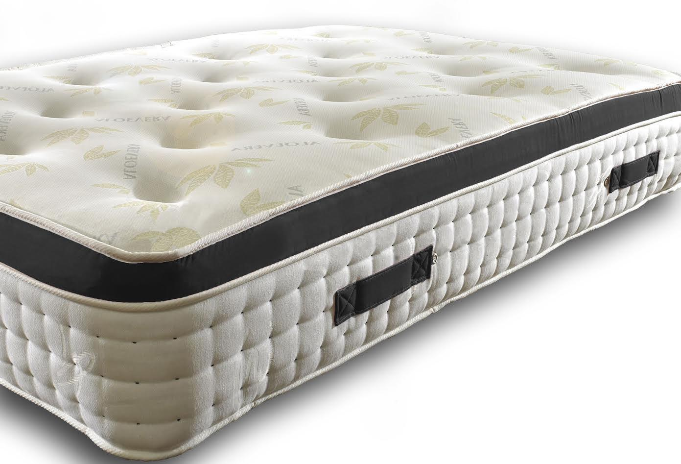 Levi Memory Foam Pocket Spring Pillow Top Mattress Wide Range Of Spring Count
