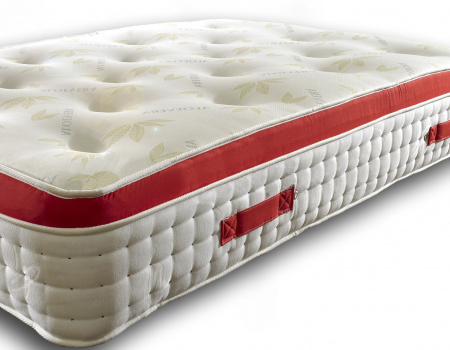 1500 Pocket Spring Pillow Top Mattress With Stylish Red Border