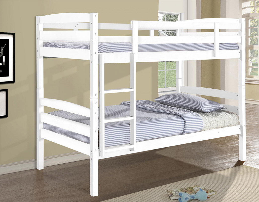 Tripoli Solid Wooden Bunk Bed Set