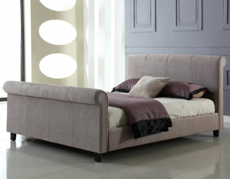 Jalisa Mink Chenille Scroll Bed