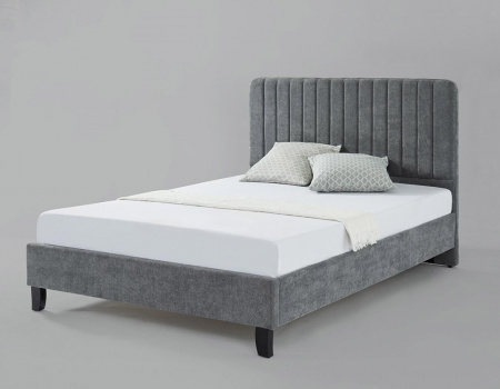 Livingstone Grey Fabric Bed Set