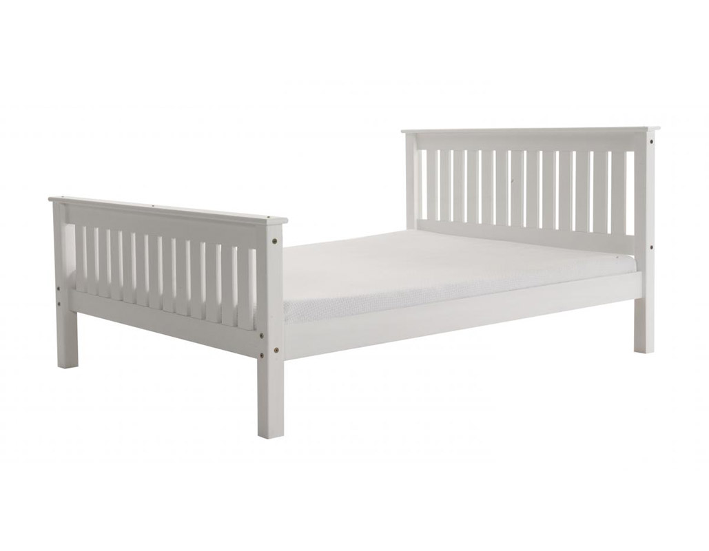 Manila Wooden Bed Set With High Footboard Beds Net
