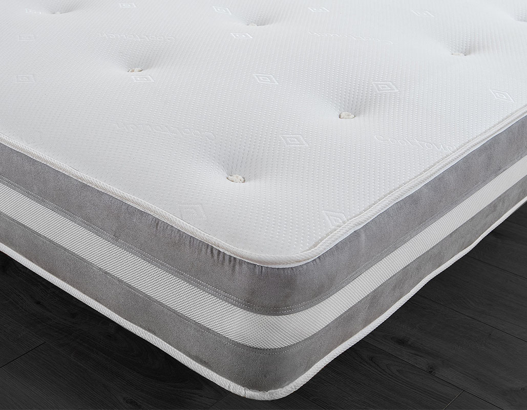 Owen-Grey-airflow-memory-foam-open-coil-sprung-mattress-pattern