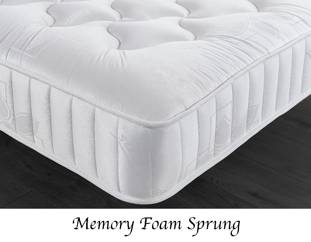 Quartz Ottoman Storage Bed In White Or Black