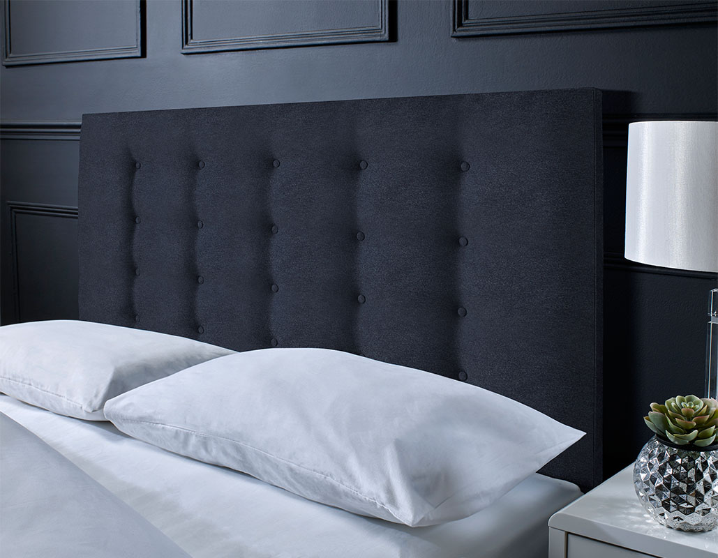 Buckley Suede Button Headboard