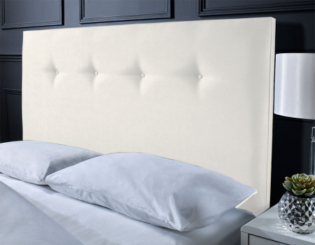 Alton Suede Button Headboard