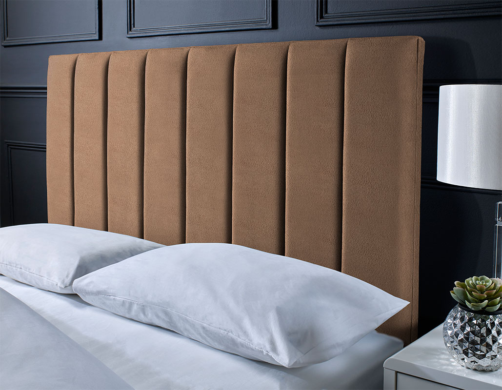 Oakley Panel Suede Headboard